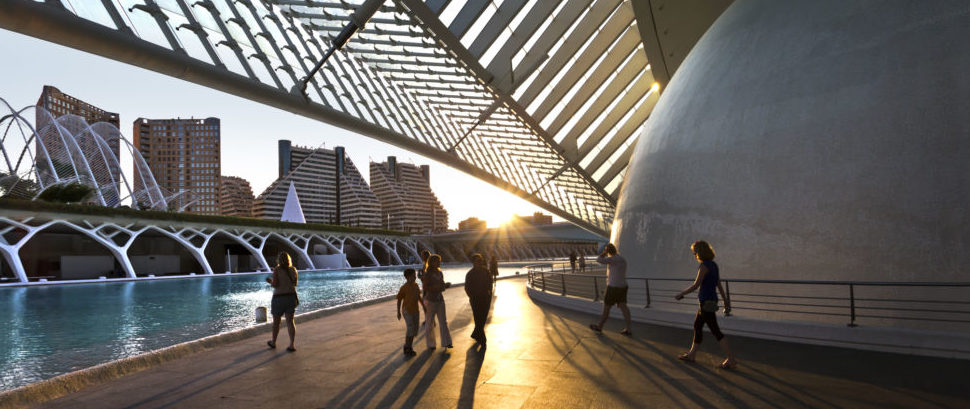 City of the Arts and Sciences, Valencia, Spain © Harun | Dreamstime 16347060