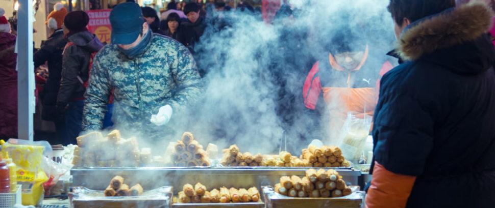 Korean Street Food © Peogeo | Dreamstime 59032893