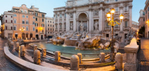 Trevi Fountain, Rome, Italy © Juliengrondin | Dreamstime 34947479