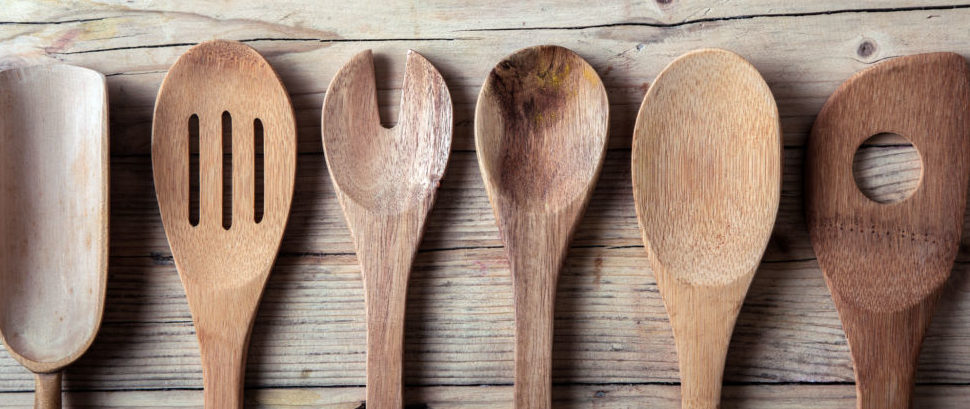 Wooden Spoons © stockcreations | Dreamstime 36474096