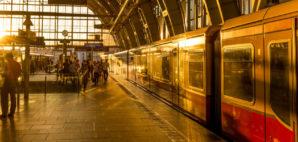 Train Station in Berlin, Germany © Photo Nieuwland | Dreamstime 76686884