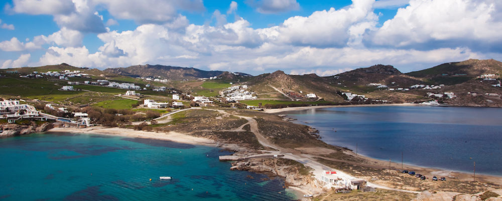 Kalafatis Beach, Mykonos © Asteri77 | Dreamstime.com