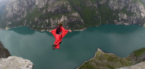 Base Jumping Norway © Christophe Michot | Dreamstime