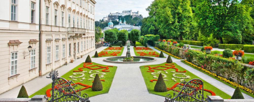 Mirabell Palace and Gardens © minnystock | Dreamstime