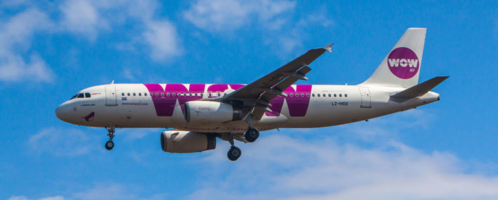Wow Air © Johann68 | Dreamstime
