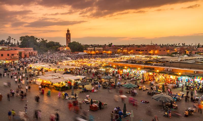 Jamaa el Fna market