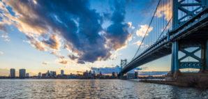 Ben Franklin Bridge © Christian Hinkle | Dreamstime.com