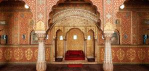Audience Hall in Junagarh Fort, Bikaner, India
