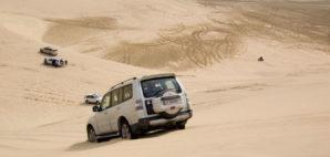 Dune bashing, Qatar