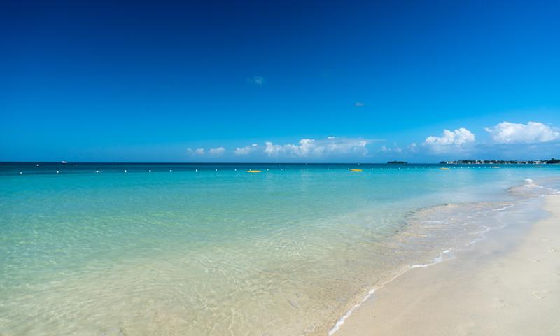 Jamaican seascape